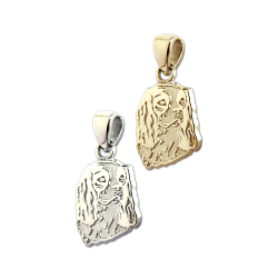 Cavalier King Charles Spaniel Charm or Pendant in Sterling Silver or 14K Gold