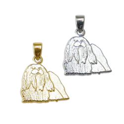 Maltese Charm or Pendant in Sterling Silver or 14K Gold