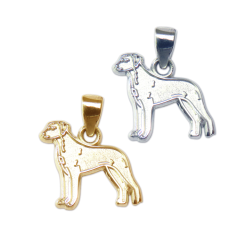 Rhodesian Ridgeback Charm or Pendant in Sterling Silver or 14K Gold