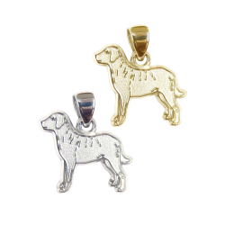 Chesapeake Bay Retriever Charm or Pendant in Sterling Silver or 14K Gold