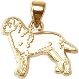 Labrador Retriever Charm or Pendant in Sterling or 14K Gold