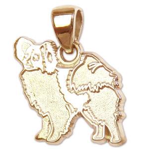 Papillon Charm or Pendant in Sterling or 14K Gold