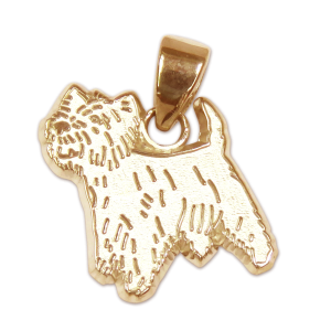 West Highland White Terrier Charm or Pendant in Sterling or 14K Gold