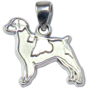 Brittany Charm or Pendant in Sterling or 14K Gold