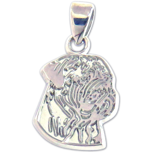 Bullmastiff Charm or Pendant in Sterling or 14K Gold