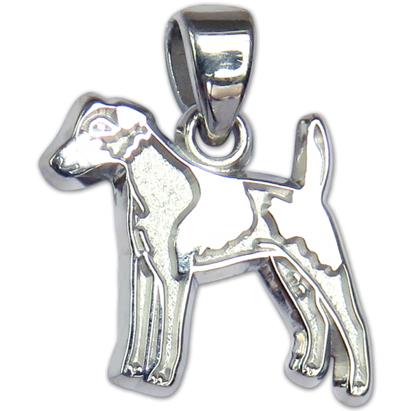 Smooth Fox Terrier Charm or Pendant in Sterling or 14K Gold