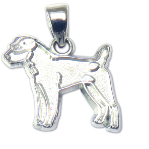 Parson Russell Charm or Pendant in Sterling or 14K Gold